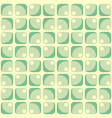 pattern with dotted rounded and squared elements vector image