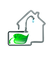 water supply vector image
