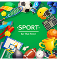 Sport Inventory vector image