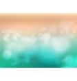 Bokeh blur romantic pink green backdrop with fog vector image vector image