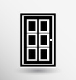 Door icon button logo symbol concept vector image vector image