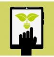 Ecology online design vector image