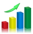 Growth Arrow vector image vector image