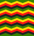 jamaica chevron seamless pattern vector image vector image