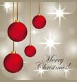 merry christmas elegant glowing blur for greetings vector image