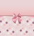 rose quartz flower seamless pattern decorated vector image vector image