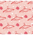 Wedding seamless pattern with hangers for bride vector image vector image