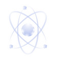 Blue atom icon