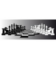 chess series vector image vector image