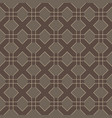 cross line seamless pattern vector image vector image