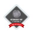 Meteorologist Label vector image vector image