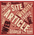 OG web traffic 17 text background wordcloud vector image vector image