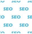 Seo seamless pattern vector image vector image
