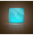 abstract background with glass banner vector image
