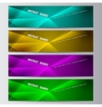 Abstract banner business background