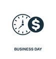 business day icon creative element design from vector image