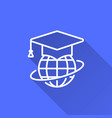 e-learning education icon vector image vector image