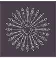 Geometric linear circule logotypes649548 vector image vector image