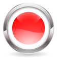 Gloss Button with Japan Flag vector image vector image