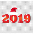new years text vector image vector image