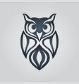 owl logo icon design vector image vector image