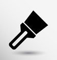Wide spatula icon button logo symbol concept vector image