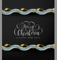 Christmas and new year luxury gold garland