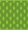 christmas fir tree seamless pattern vector image