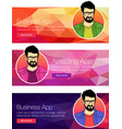 for web banners and vector image