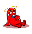 Sick Kidney vector image