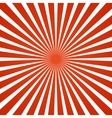 Radial rays background vector image