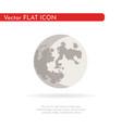 crescent moon 1 vector image vector image
