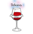 dlicious drink vector image