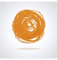 Grunge paint circle vector image vector image
