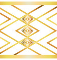 isolated art deco background design vector image