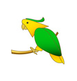 Parrot-380x400 vector image vector image