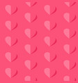 valentines day seamless pattern flying hearts vector image