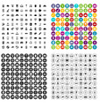 100 gadget icons set variant vector image vector image