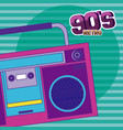90s retro cartoons vector image