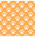 animal seamless pattern paw footprint and dot vector image vector image