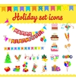 festive background with carnival and vector image