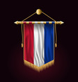 Flag of netherlands festive vertical banner wall vector image