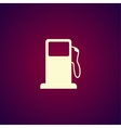 Gasoline pump nozzle sign Gas station icon vector image