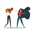 happy young girls best friends girls jumping vector image vector image