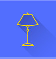 lighting - icon for graphic and web design vector image vector image