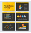 Set of templates for multipurpose vector image vector image