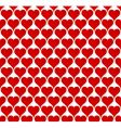valentine hearts seamless wallpaper vector image vector image