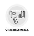Videocamera Line Icon vector image