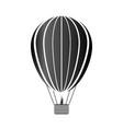 aerostat icon on white vector image