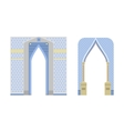 Arch construction vector image vector image